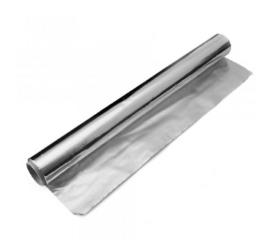 В продаже алюминиевая фольга для бани, толщиной 100 микрон по 12 м2 цена за рулон
