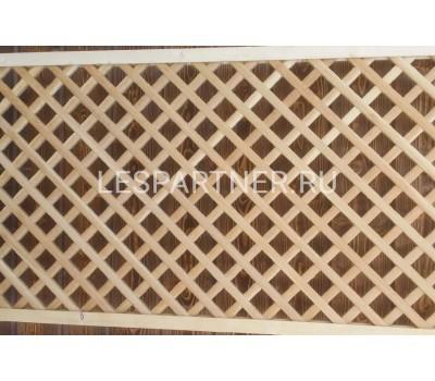 Решетка из дуба Д-14 (60) 700x2000 мм (обрамление из хвои)