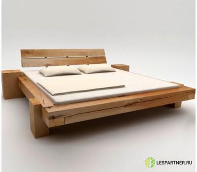 """Кровать в стиле Лофт  из массива бруса""""XXXV"""""""