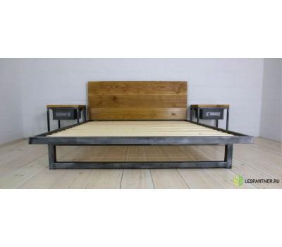 """Кровать в стиле Лофт """"II"""""""
