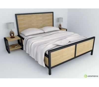 """Кровать в стиле Лофт """"XXI"""""""