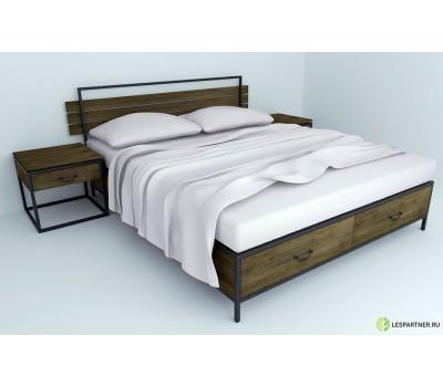 """Кровать в стиле Лофт """"XXIV"""""""