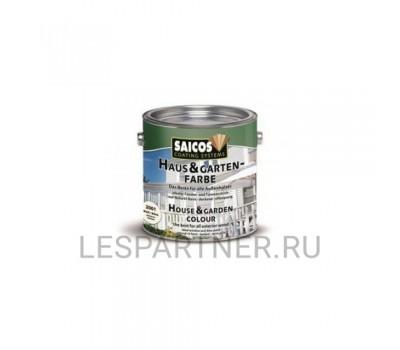Краска для дерева для наружных и внутренних работ Haus and Garten-Farbe- 2520 Лазурный 0,125л