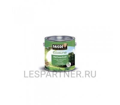 Масло с твердым воском Premium Hartwachsol-3600 Eco полуматовый 0,125л