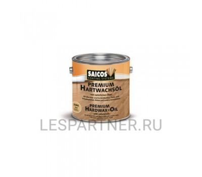 Масло с твердым воском Premium Hartwachsol- 3200 - Шелковисто-матовое 0,75л