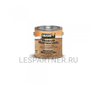 Масло с твердым воском Premium Hartwachsol- 3035 - Глянцевое 10л