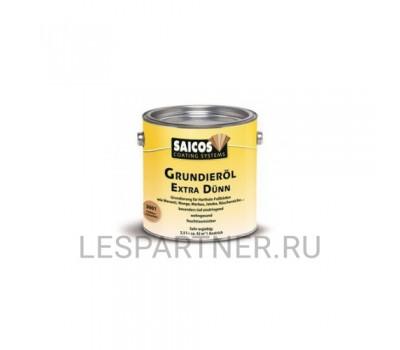 Масляная грунтовка для древесины Grundierol Extra Dunn-3008 Черный (прозрачный) 10л
