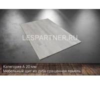 Мебельный щит из дуба категория А 20x1000x1200мм