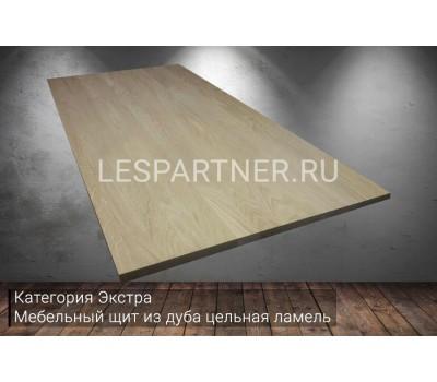 Мебельный щит из дуба категория Э 18х600х2100мм