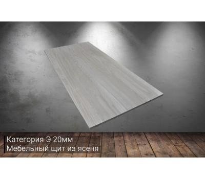 Мебельный щит из ясеня категория Э 20x400x1000мм