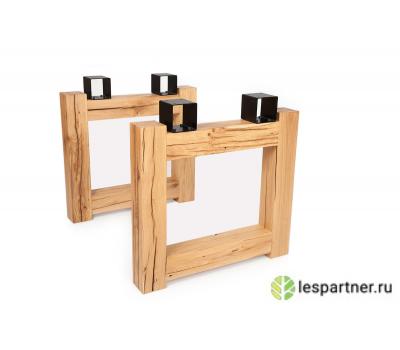 В продаже деревянная опора THREE LOFT из дуба для стола или столешницы
