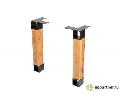 В продаже деревянная опора FIVE LOFT из дуба для стола или столешницы