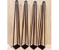 """Тройные ножки-шпильки в стиле """"Ретро"""" 30 см высотой"""