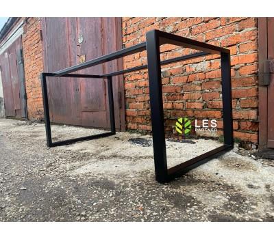 Предлагаем подстолье прямоугольное из металла в стиле лофт, по нужным размерам.