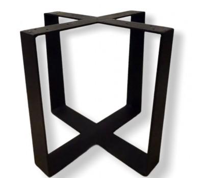 """Подстолье для стола """"Крест"""" из полосы"""
