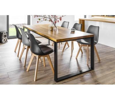 Заказать стол из массива дуба цельноламельной склейки по индивидуальным размерам