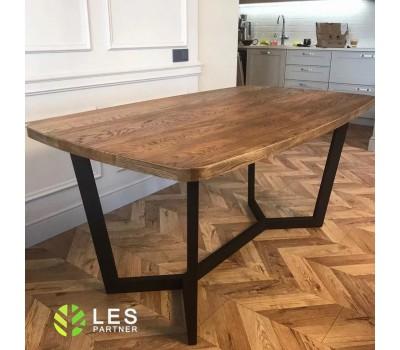У нас вы сможете заказать обеденный стол из массива дерева дуба по вашим размерам