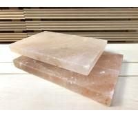 Плитка из гималайской соли гладкая 20х30