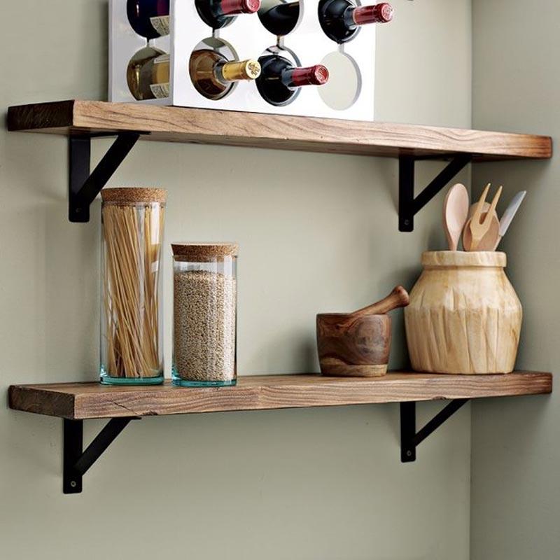 декоративные полки на кухню фото данном случае можно